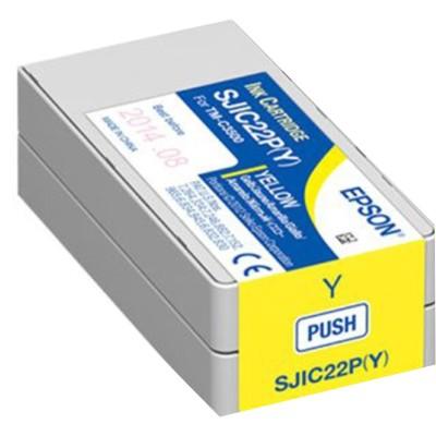 Tusz oryginalny SJIC22P Y do Epson (C33S020604) (Żółty)