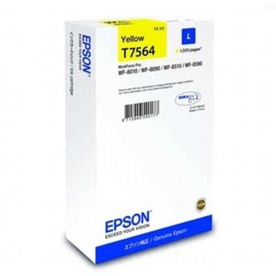 Tusz oryginalny T7564 do Epson (C13T756440) (Żółty)