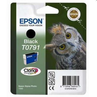 Tusz oryginalny T0791 do Epson (C13T07914010) (Czarny)