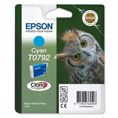 Tusz oryginalny T0792 do Epson (C13T07924010) (Błękitny)