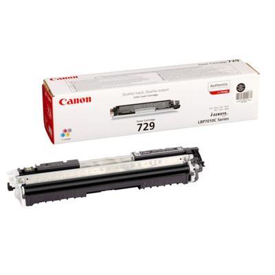 Toner oryginalny CRG-729 B do Canon (4370B002) (Czarny)