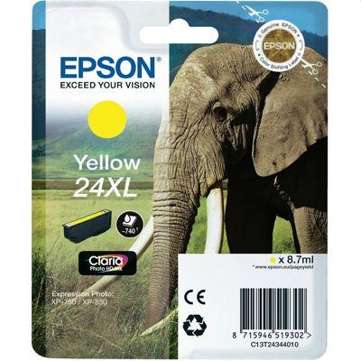 Tusz oryginalny T2434 do Epson (C13T24344010) (Żółty)