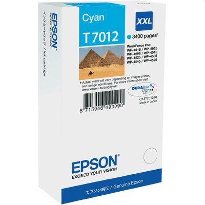 Tusz oryginalny T7012 do Epson (C13T70124010) (Błękitny)