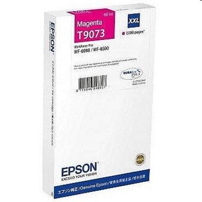 Tusz oryginalny T9073 do Epson (C13T907340) (Purpurowy)