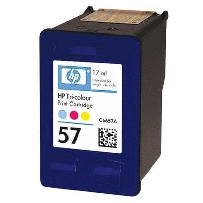 Regeneracja tusz 57 do HP (C6657AE) (Kolorowy)
