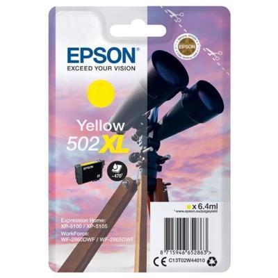 Tusz oryginalny 502 XL do Epson (C13T02W44010) (Żółty)