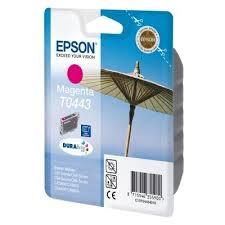 Tusz oryginalny T0443 do Epson (C13T04434010) (Purpurowy)