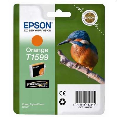 Tusz oryginalny T1599 do Epson (T15994010) (Pomarańczowy)
