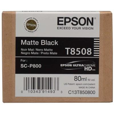 Tusz oryginalny T8508 do Epson (C13T850800) (Czarny matowy)