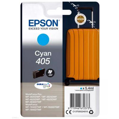 Tusz oryginalny 405 do Epson (C13T05G24010) (Błękitny)
