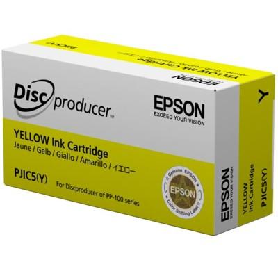 Tusz oryginalny PJIC5(Y) do Epson (C13S020451) (Żółty)