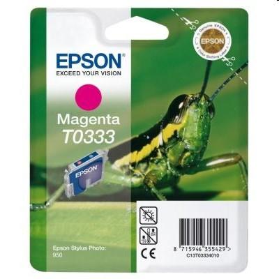 Tusz oryginalny T0333 do Epson (C13T03334010) (Purpurowy)