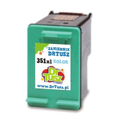 Tusz zamiennik 351 do HP (CB337EE) (Kolorowy)