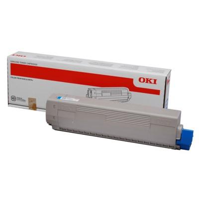 Toner oryginalny C822 do Oki (44844615) (Błękitny)