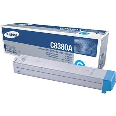 Toner oryginalny CLX-C8380 do Samsung (CLX-C8380A) (Błękitny)
