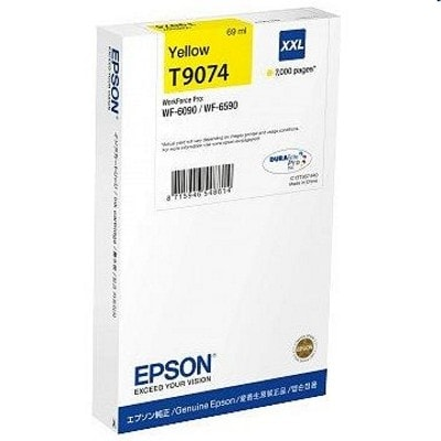 Tusz oryginalny T9074 do Epson (C13T907440) (Żółty)