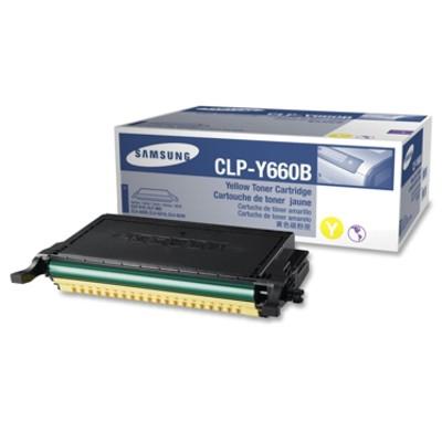 Toner oryginalny CLP-Y660B 5K do Samsung (ST959A) (Żółty)