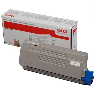 Toner oryginalny C710 do Oki (44318608) (Czarny)