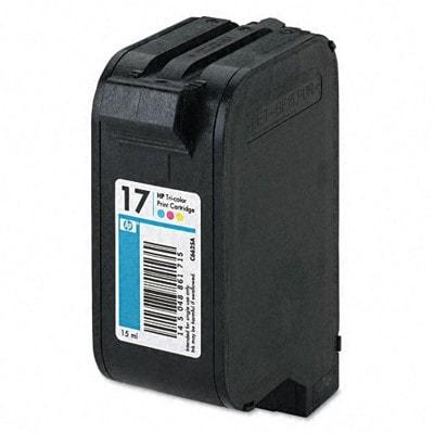 Regeneracja tusz 17 do HP (C6625AE) (Kolorowy)