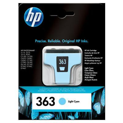 Tusz oryginalny 363 do HP (C8774E) (Jasny błękitny)