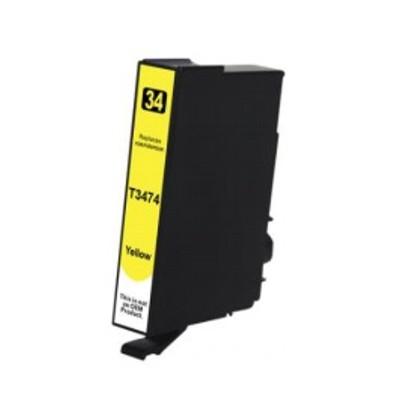 Tusz zamiennik 34xl do Epson (T3474) (Żółty)