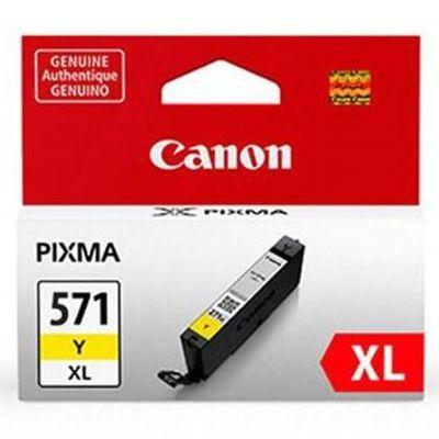 Tusz oryginalny CLI-571 XL Y do Canon (0334C001) (Żółty)