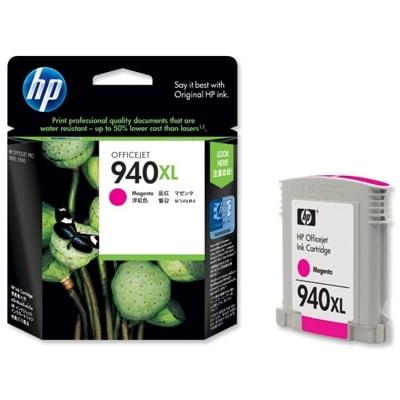 Tusz oryginalny 940 XL do HP (C4908AE) (Purpurowy)