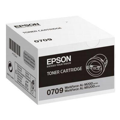 Toner oryginalny M200/MX200 do Epson (C13S050709) (Czarny)