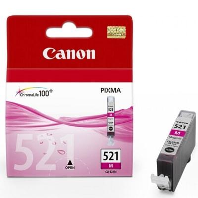 Tusz oryginalny CLI-521 M do Canon (2935B001) (Purpurowy)