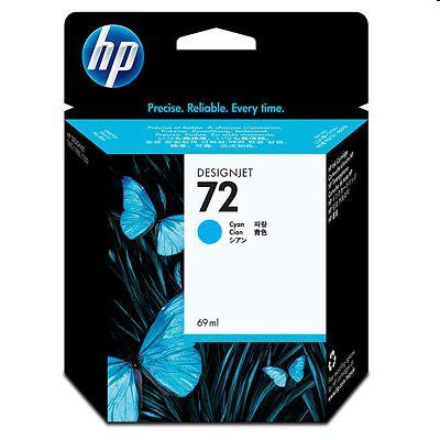 Tusz oryginalny 72 do HP (C9398A) (Błękitny)