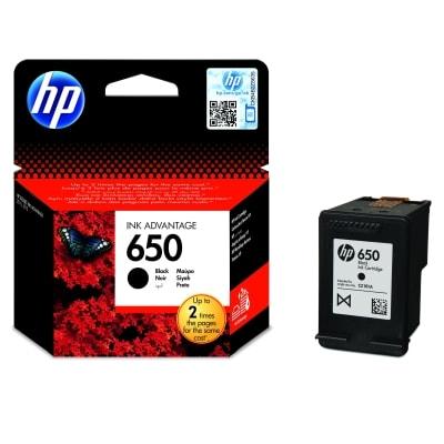 Tusz oryginalny 650 do HP (CZ101AE) (Czarny)