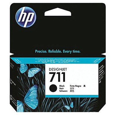 Tusz oryginalny 711 do HP (CZ129A) (Czarny)