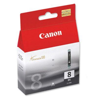 Tusz oryginalny CLI-8 BK do Canon (0620B001) (Czarny)