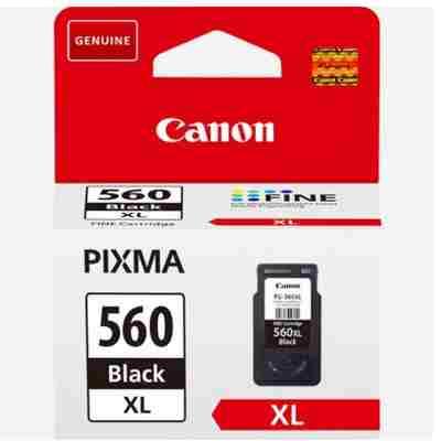 Tusz oryginalny PG-560 XL do Canon (3712C001) (Czarny)