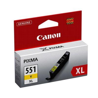 Tusz oryginalny CLI-551 Y XL do Canon (6446B001) (Żółty)