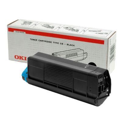 Toner oryginalny C5100 do Oki (42127408) (Czarny)