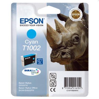 Tusz oryginalny T1002 do Epson (C13T10024010) (Błękitny)