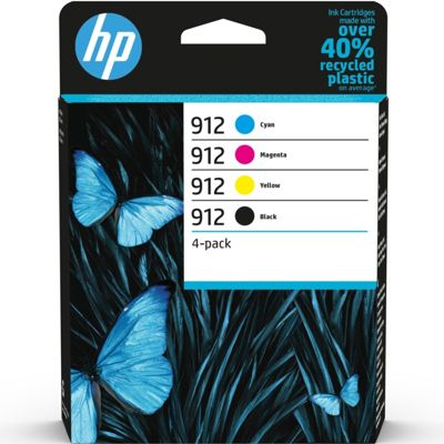 Tusze oryginalne 912 do HP (6ZC74AE) (komplet)