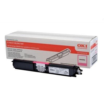 Toner oryginalny C110/130 do Oki (44250722) (Purpurowy)