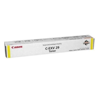 Toner oryginalny C-EXV29Y do Canon (2802B002) (Żółty)