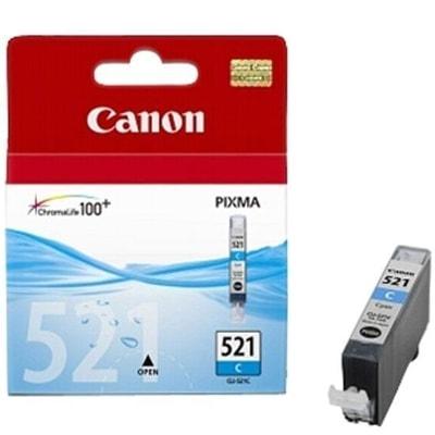 Tusz oryginalny CLI-521 C do Canon (2934B001) (Błękitny)