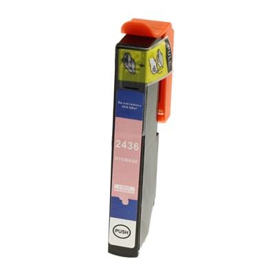 Tusz zamiennik T2436 do Epson (C13T24364010) (Jasny purpurowy)