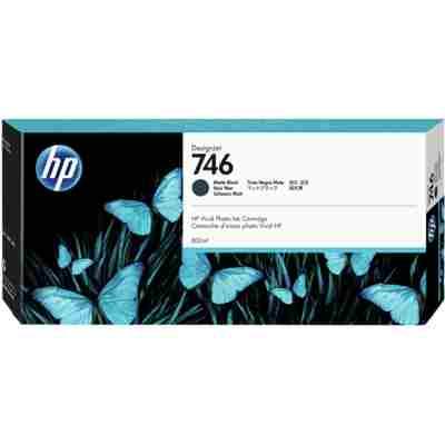 Tusz oryginalny 746 do HP (P2V83A) (Czarny matowy)