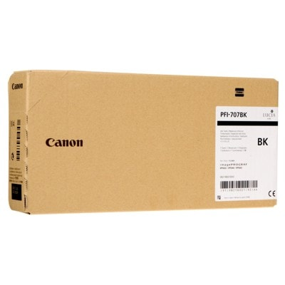 Tusz oryginalny PFI-707BK do Canon (9821B001) (Czarny)