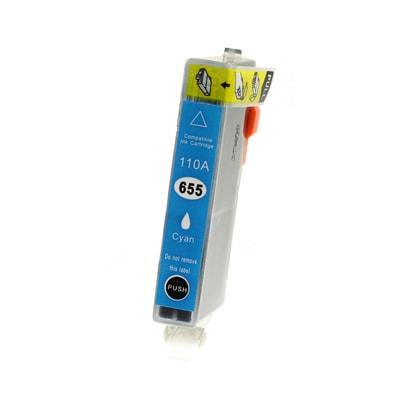 Tusz zamiennik 655 do HP (CZ110AE) (Błękitny)