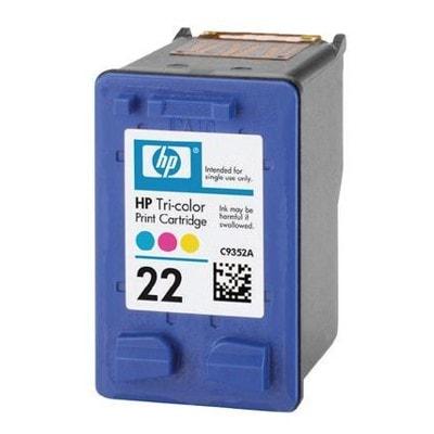 Regeneracja tusz 22 do HP (C9352AE) (Kolorowy) (startowy)
