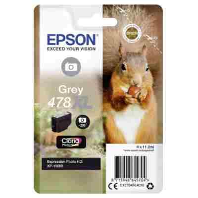 Tusz oryginalny 478 XL do Epson (C13T04F64010) (Grey)