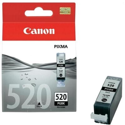 Tusz oryginalny PGI-520 BK do Canon (2932B001) (Czarny)