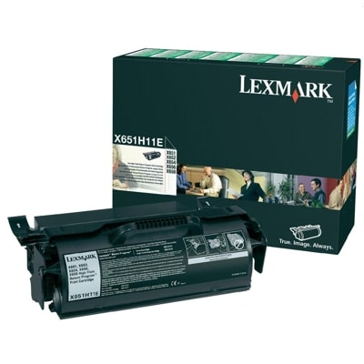 Toner oryginalny X651H11E do Lexmark (X651H11E) (Czarny)