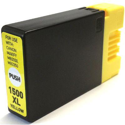 Tusz zamiennik PGI-1500 Y do Canon (9195B001) (Żółty)
